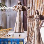 女神天使エンジェル置物、お祈りする女神の天使と聖書を読む女性天使、ガーデンエンジェルオブジェオーナメントhhdangel007