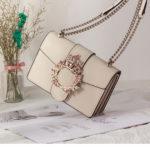 王冠バッグショルダーバッグ、ベージュとワインレッドのクラウン装飾のスプリットレザーハンドバッグ、レディースバッグeudcrown001