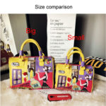 合成皮革バッグ、ショルダーバッグ、お店ウィンドウと薔薇の花とドレスの女性のハンドバッグ、レディースバッグiPinillust001