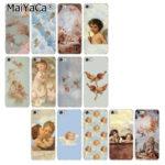 スマホケース スマホカバー スマートフォンケース iphoneケース 天使絵画の天使スマホケースbwcangel001