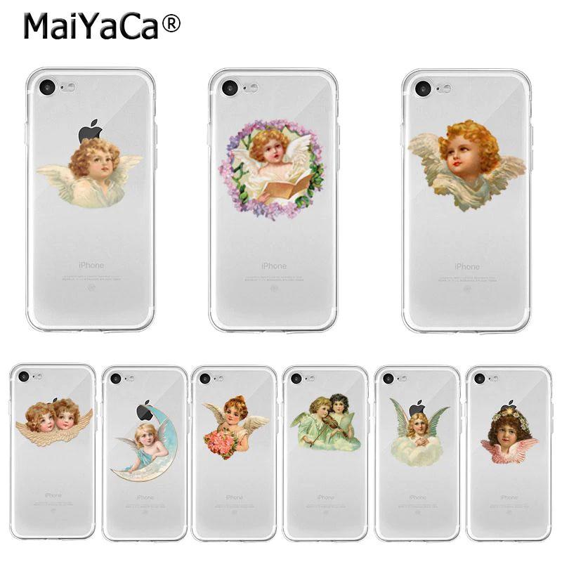 スマホケース スマホカバー スマートフォンケース iphoneケース 天使イラストの天使スマホケース