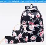 "<span class=""title"">薔薇リュック、花柄リュックサック、ピンクローズ花柄のピンク薔薇バッグ、花柄バッグ、ハンドバック、化粧ポーチ、レディースバッグfecorose001</span>"