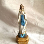 "<span class=""title"">ルルドのマリア像、聖母マリア像置物、ルルドの泉でお祈りをしているカラーのマリア女神像、マリアオブジェオーナメントフィギアargamaria001</span>"